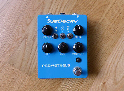 Subdecay Prometheus -Resonant Filter, Autowah, Stepfilter- out of production!