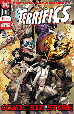 Terrifics #1 (2018) 1St Printing Dark Nights Metal Tie-In Dc Universe Batman