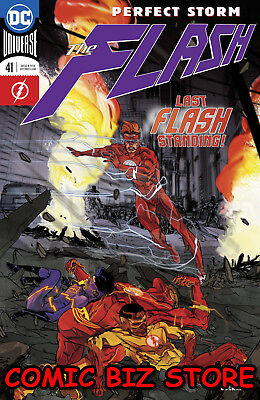 Flash #41 (2018) 1St Printing Dc Universe Rebirth Bagged & Boarded