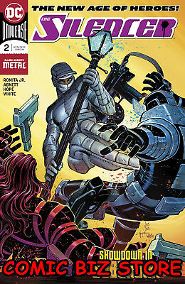 Silencer #2 (2018) 1St Printing Dark Nights Metal Tie-In Dc Universe Batman