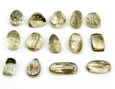 56.25 Ct Natural Scapolite Loose Cab Gemstone Wholesale Lot of 14 Pcs - 17531