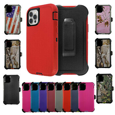 For Apple iPhone x 8 7 6 6S Plus Case Cover (Clip Fits Otterbox Defender)