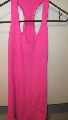 Lululemon athletica Womens  Racerback Tank Top Pink Size 6 Yoga Active Athletic