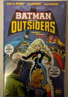 BATMAN AND THE OUTSIDERS VOLUME 2 HARDCOVER brand new sealed