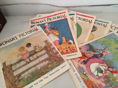 Vintage 1930s Magazine Covers Of Children For Framing
