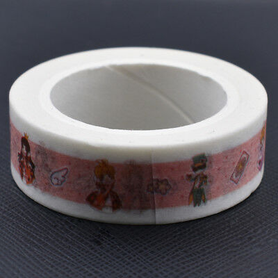 Japanese Anime Card Captor Sakura Kinomoto Paper Washi Tape Cartoon Sticker DIY