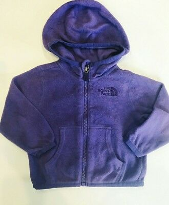 The North Face Jacket 6-12 Months for Infant Toddler Purple Northface