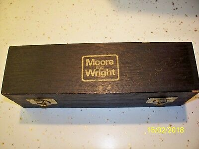 Moore and Wright, Precision Machinery Level, 6.5 inch
