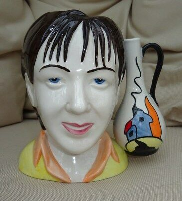 Lorna Bailey Signed Character (Lorna Bailey) Vase, Limited Edition 5 Of 6, Vgc