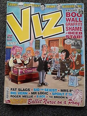 Viz magazine comic issue 269. October 2017. Free postage
