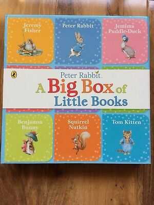 Peter Rabbit: A Big Box of Little Books. This set includes nine mini stories.