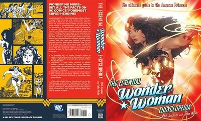 The Essential Wonder Woman Encyclopedia Hardcover