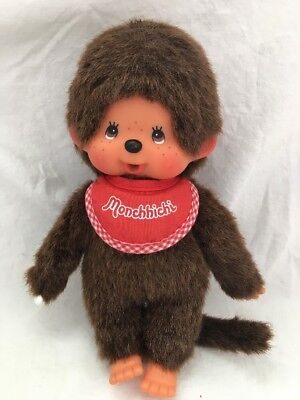Sekiguchi Europe Holland MONCHHICHI Monkey Plush Doll RED BIB