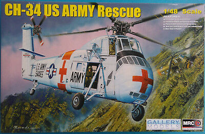MRC Sikorsky Hubschrauber CH-34 US ARMY Rescue Nr.: 64103 1:48