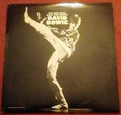 "David Bowie - The Man Who Sold The World Reissue 12"" Album Inc Original Poster"
