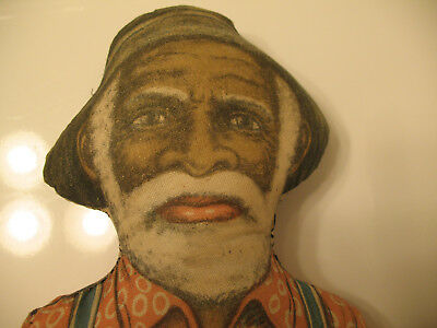 Black Americana Uncle Mose Aunt Jemima Husband Pancake Advertising Cloth Doll