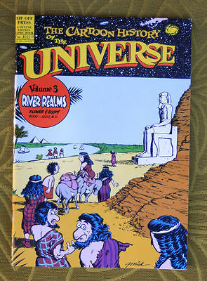 Underground Comix book 1987 Cartoon history of Universe # 3 great art 50 pages