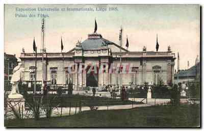 CPA Exposition Universelle et Internationale Liege 1905 Palais de Fetes