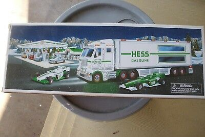 2003 Hess Toy Truck And Race Cars ~ Brand New In  Box...get Em Here !!