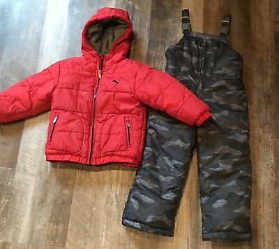 Toddler Boys Winter Snow Outfit 3/4T