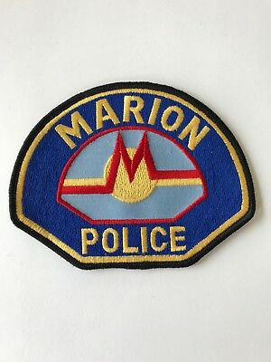 Marion (Iowa) Police Patch