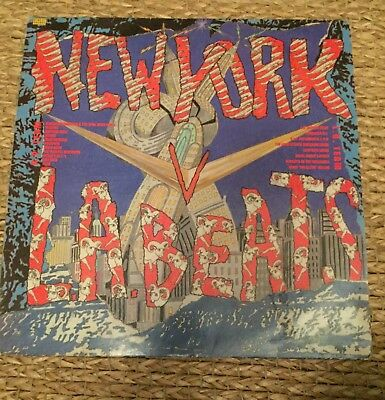 Street Sounds - New York V LA Beats vinyl LP 1985 electro