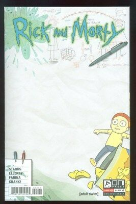 Rick and Morty #25 Blank C2E2 Con Sketch Variant - Oni Press - Near Mint+