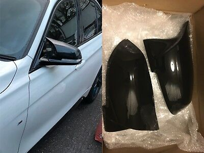 Bmw 3 Series F30 4 Series F32 Gloss Black M Performance Mirror Cover Perfect Fit