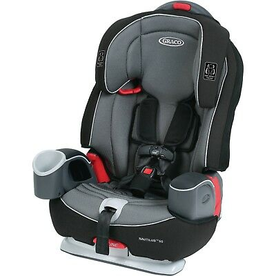 Toddler Car Seat 3-in-1 Multi-Use Harness Booster Steel-Reinforced Frame