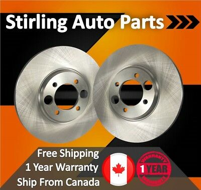 2013 2014 2015 Ford C-Max Disc Brake Rotors Hybrid Front Pair