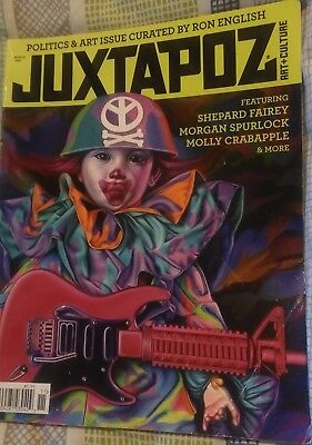 Juxtapoz 142 November 2012 Politics and Art Issue Curated by Ron English