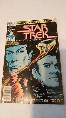 Marvel Comics Group Star Trek The Motion Picture Vol 1 No.1 Apr 1980 Comic Book