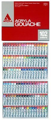 Holbein Acryla Gouache D434 Full Set 102 Colors 20ml #6 (20ml) Tube F/S H