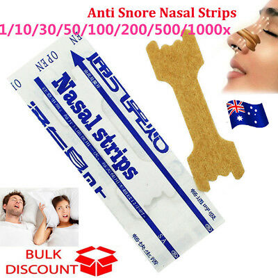 Nasal Strips Stop Snoring Help Breathe Better Easy Right Anti Snore Nose Strip M