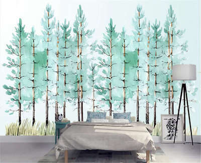 Neat Pulpy Woods 3D Full Wall Mural Photo Wallpaper Printing Home Kids Decor