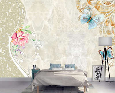 Neat Jolly Violet 3D Full Wall Mural Photo Wallpaper Printing Home Kids Decor