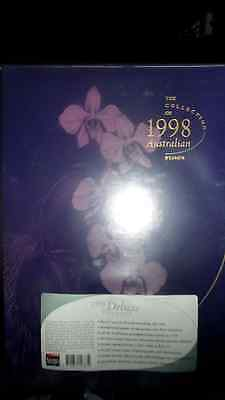 The Collection of 1998 Australian Stamps Album and Slipcase Brand New