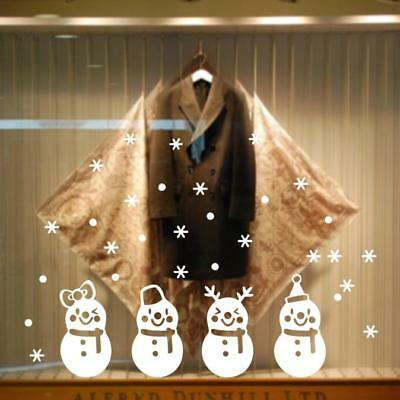 Christmas Snow Ball Home Vinyl Window Wall Stickers Decal Decor Removable
