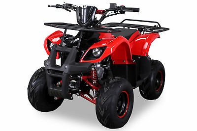 MIDI Kinder Pocket Quad ATV S-8 125 cc Farmer Kinderquad Rot