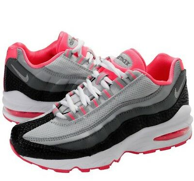 separation shoes 15102 7822b Nike Air Max 95 LE GS Youth Trainers 310830-005 Grey Pink UK 5 EU