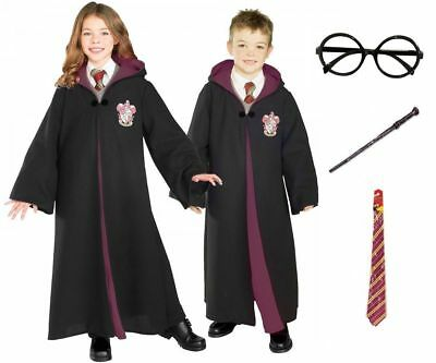 Boys Girls Adults Harry Potter  Fancy Dress Costume Robe Kids For World Book Day