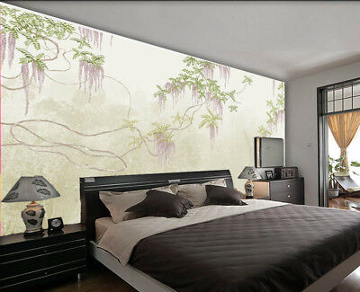 Blear Pulpy Branch 3D Full Wall Mural Photo Wallpaper Printing Home Kids Decor