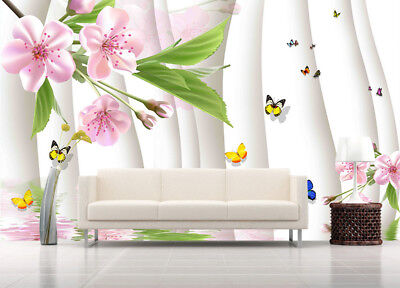 Odorous Pulpy Lily 3D Full Wall Mural Photo Wallpaper Printing Home Kids Decor