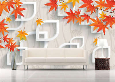 Pulpy Numerous Maple 3D Full Wall Mural Photo Wallpaper Printing Home Kids Decor