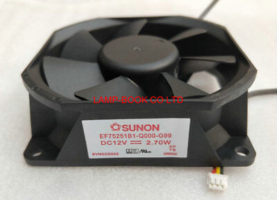 new for SUNON PF92251V3-D060-S99 12V 2.21W BIG FAN FOR OPTOMA PROJECTORS