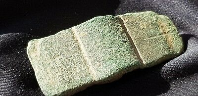 Stunning little probably Votive bronze age axe head found in England L88t