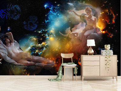 Peaceful Pulpy Stars 3D Full Wall Mural Photo Wallpaper Printing Home Kids Decor
