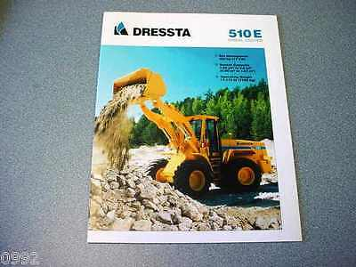 Dressta 510E Wheel Loader Brochure