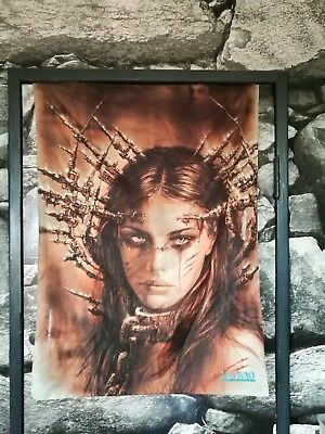 "LUIS ROYO Flagge / Fahne Poster Posterflagge ""the announcement"""