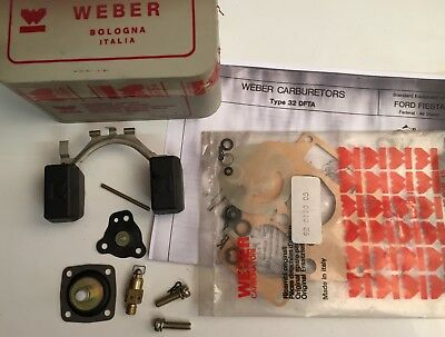 Kit réparation carburateur WEBER 32 DFT - 32 DFTA  - Ford Fiesta - 92.1246.05